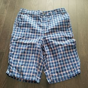 4/$30 Boys new without tags plaid casual shorts